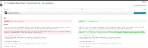 Revisions in WordPress